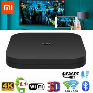 Computer Xone | Xiaomi Mi TV Box S Android 8.1 5G WIFI TV Boxs 4K HDR Ultra HD 2G+8G Google Cast | Black