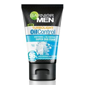 Turbo Light Oil Control White Clay Face Wash 100g