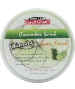 Saeed Ghani Whitening Cucumber Scrub