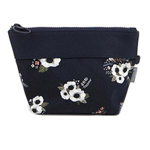 Amart-D Fashion Women Storage Bag Canvas Flowers Leaves Flamingos Printed Coin Purse Lady Clutch Bag Sewing Kit Girl Makeup Bags