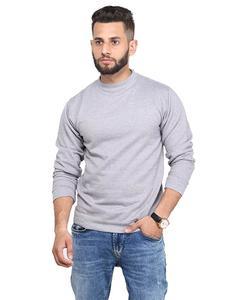Heather Grey Sweatshirt For Men