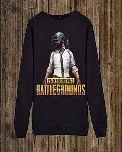 Pubg Printed Sweat Shirt For Her