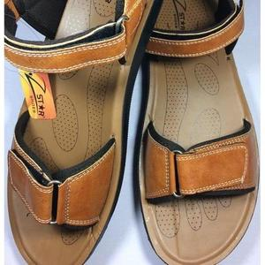 CRAZY SALE 50% New Stylish Real Leather Camel Sandal /Slide For Style & Comfort (Product Promise: Same Stock Will Deliver)