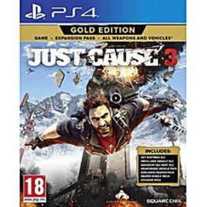 SonyJust Cause 3 Gold Edition - (PS4)