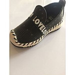 SHOES RACKXinluza Soft And Easy Sneakers For Baby Boys And Girls-Black -Sh0065-21