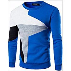 Rajani Collection Blue Fleece Sweat Shirt for Men