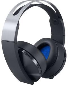 PlayStation 4 - Platinum Wireless Headset - Black & Silver
