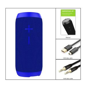 TE HOPESTAR P7 Can Shape Speaker Music Player Waterproof Power Bank blue