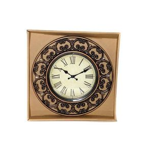 Antique Wall Clock - Brown