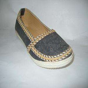Black Rexiene Imported Shoes Slip-Ons For Women