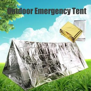 Outdoor Emergency Blanket Tent Sleeping Bag Survival Rescue Camping Shelter Hike