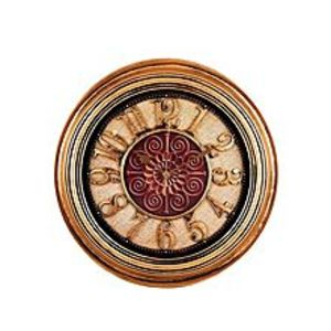 Asaan Buy Antique Hollow Wall Clock Bronze - 14x14""