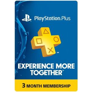 PLAYSTATION 3 MONTH GIFT CARD UK