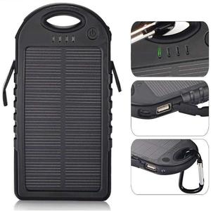 Charge with Solar Energy … Dual Mini Portable 30,000 mAh Dual Ports Waterproof Fast Solar Power Bank Portable with Bright LED Lights