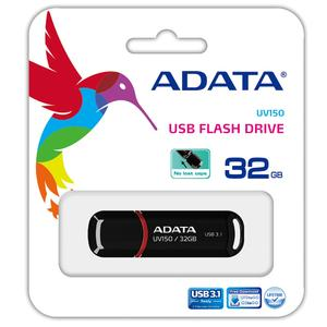ADATA USB FLASH DRIVE UV150 BLACK 16GB - 32GB - 64GB - 1 YEAR WARRANTY