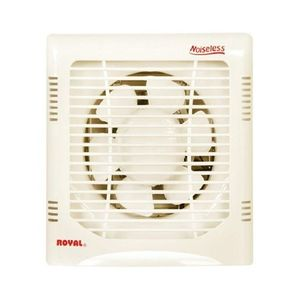Exhaust Plastic fan 10-Off White