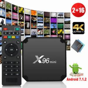 Android TV Box 2GB RAM 16GB ROM X96 Mini Android 7.1 4K , Smart TV BOX