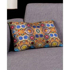 Multi Color Cotton Canvas Precious Cushion Cover