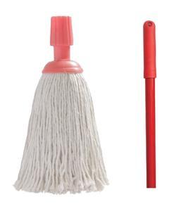 Mini mop PK 200gm + Iron handle 140cm with thread
