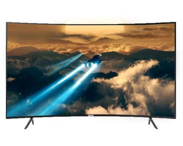 IZone LED TV Smart Curved 65A2000C 65 Inch