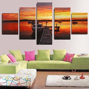 Canvas Print home decor wall art painting Beautiful Picture 5p(no framed)#095