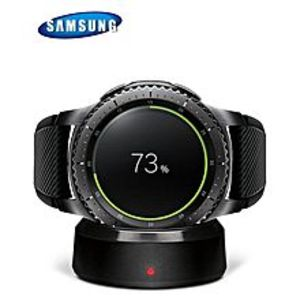 Samsung Original Samsung Gear S3 Frontier 4GB Rom Box Packed - Black/Space Grey