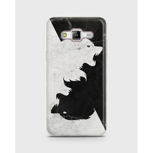 Samsung Galaxy Grand Prime Plus Soft Cover Wolves - 1Cover415