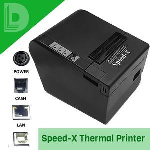 Speed-X 200 Plus Thermal Receipt Printer USB+LAN Best Quality