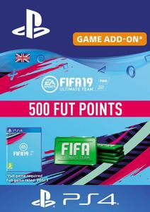 500 FIFA 19 Points PS4 PSN Code - UK account