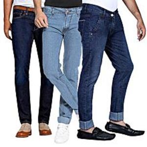 ModernStylishStore Pack of 3 Jeans for Men