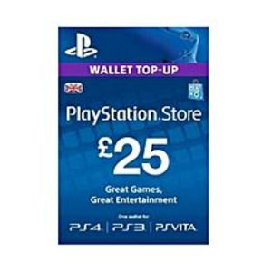 SonyPlayStation Credits for PS4, PS3 & PSVita - £25