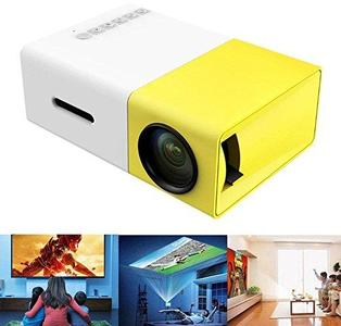 Meer YG300 Portable Mini Pico Full Color LED projector