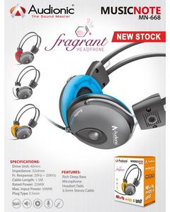 High Performance Music Notes MN-668 Headphones