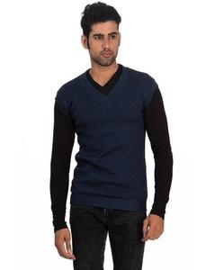 Blue Fleece Sleeveless Sweater - Name