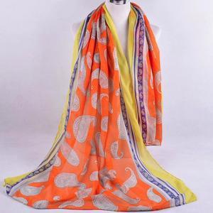 MissFortune Women Ladies Fashion Printed Soft Shawl Wraps Long Scarf Scarves