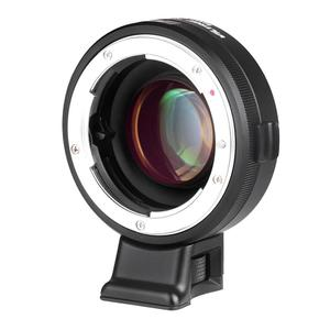 VILTROX NF-E Manual-focus F Mount Lens Adapter Telecompressor Focal Reducer Speed Booster for Sony NEX-F3/N3/3/C3/5/5C/5D/5N/5K/5T/5R/6/7/A7/A7-2/A7R/A7S/A5000/A6000 E-mount Camera