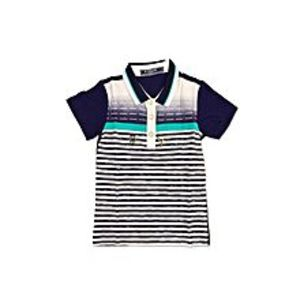 Tiny TodsBlue Cotton Jersey Polo Shirt