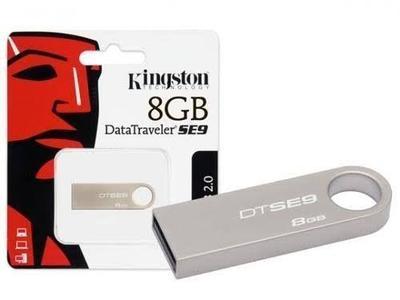 Kingston USB Datatraveller SE9 8GB 1 YEAR WARRANTY