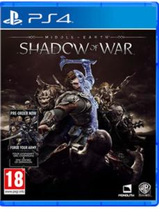 PLAYSTATION 4 DVD SHADOW OF WAR PS4 GAME