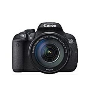 CANONEOS 700D DSLR Camera - Black - 18MP