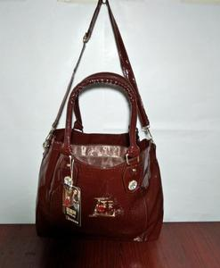 Dark Brown Fancy Handbag Women Girls Ladies Bag
