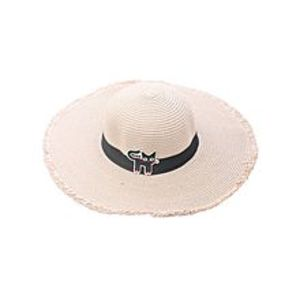 Get StyleCat patch sun hat (adult models) Pink-Pink