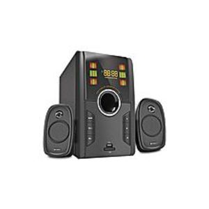 Audionic Max 350 Bt Plus - 2.1 Channel Speaker System - Black