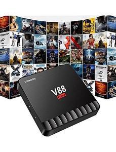 Android Smart Tv Box V88 Quad Core 4Gb+16Gb