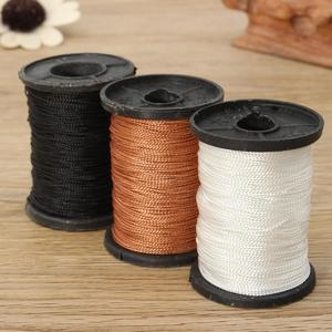 Intelligence 1MM Leather Sewing Waxed Thread For Chisel Awl Upholstery Shoes Luggage Tools