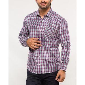 Denizen Multicolor Cotton Woven Shirt for Men