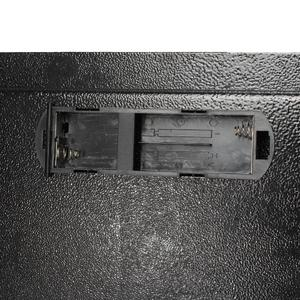 Black Steel Digital Electronic Coded Lock Home Office Safe Box + Override Key US