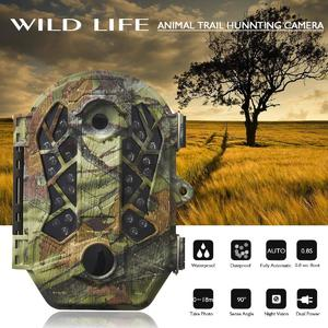 90° Detect Angle Hunting Camera Outdoor Digital 1080P Night Vision Trail Device