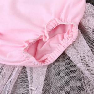Princess Baby Girl Dress Lace Tulle Bodysuit Romper Jumpsuit Outfits Sunsuit