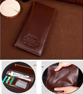 Long Wallet Soft Pu Leather Multi-Card Slots Credit Cards Holder Wallet Light